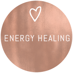Energy Healing - gold plate